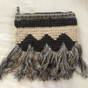 Lovestitch Tassel Clutch